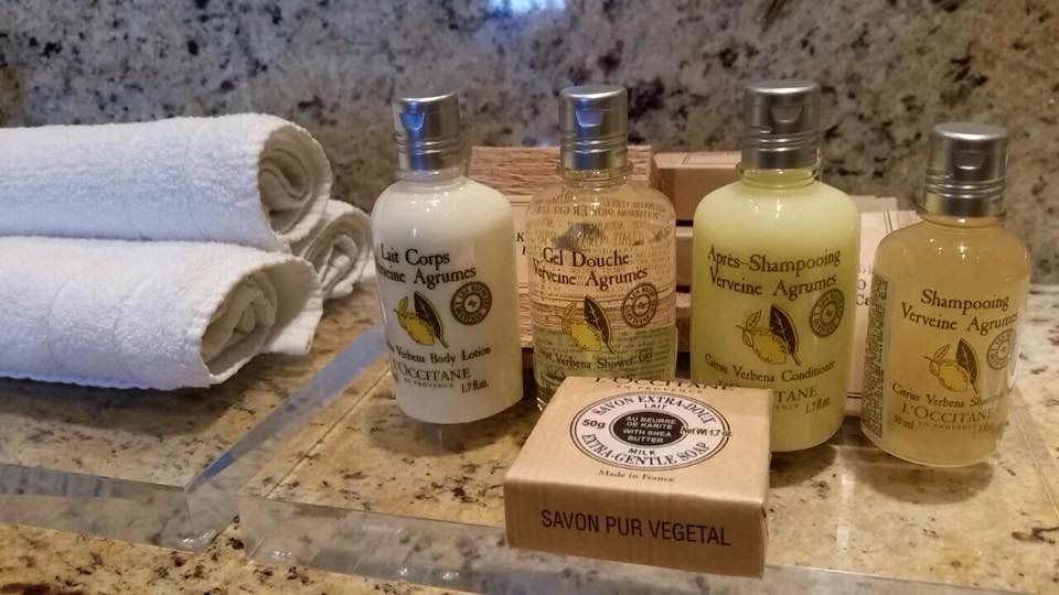 Amenities L'Occitane Radisson Faria Lima